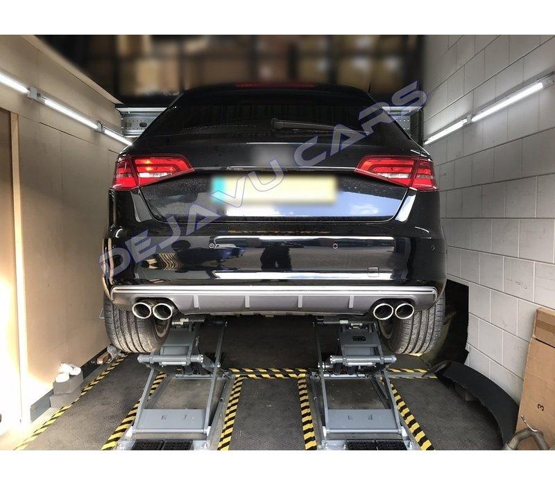 S3 Look Diffuser voor Audi A3 8V Sportback / Hatchback
