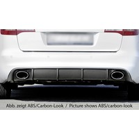 RS6 Look Diffuser for Audi A6 C6