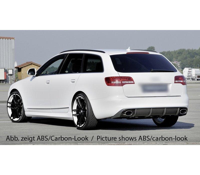 RS6 Look Diffuser voor Audi A6 C6