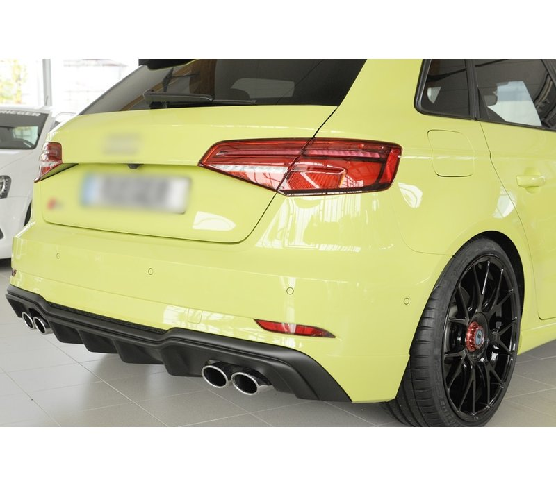 S3 Look Diffuser for Audi A3 8V S line & S3