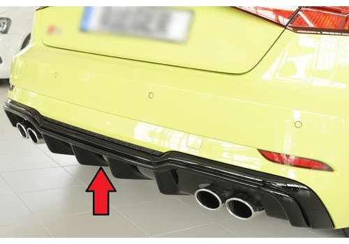 Rieger S3 Look Diffuser voor Audi A3 8V S line & S3