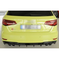 S3 Look Diffusor für Audi A3 8V S line & S3