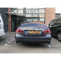 E63 AMG Look Diffusor für Mercedes Benz E-Klasse W212