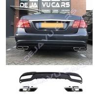 E63 AMG Look Diffuser voor Mercedes Benz E-Klasse W212
