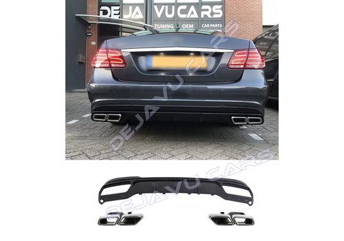 OEM LINE E63 AMG Look Diffuser for Mercedes Benz E-Class W212