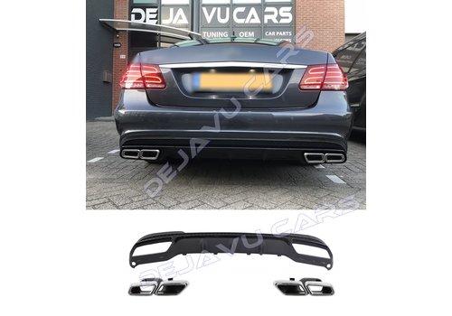 OEM LINE E63 AMG Look Diffusor für Mercedes Benz E-Klasse W212