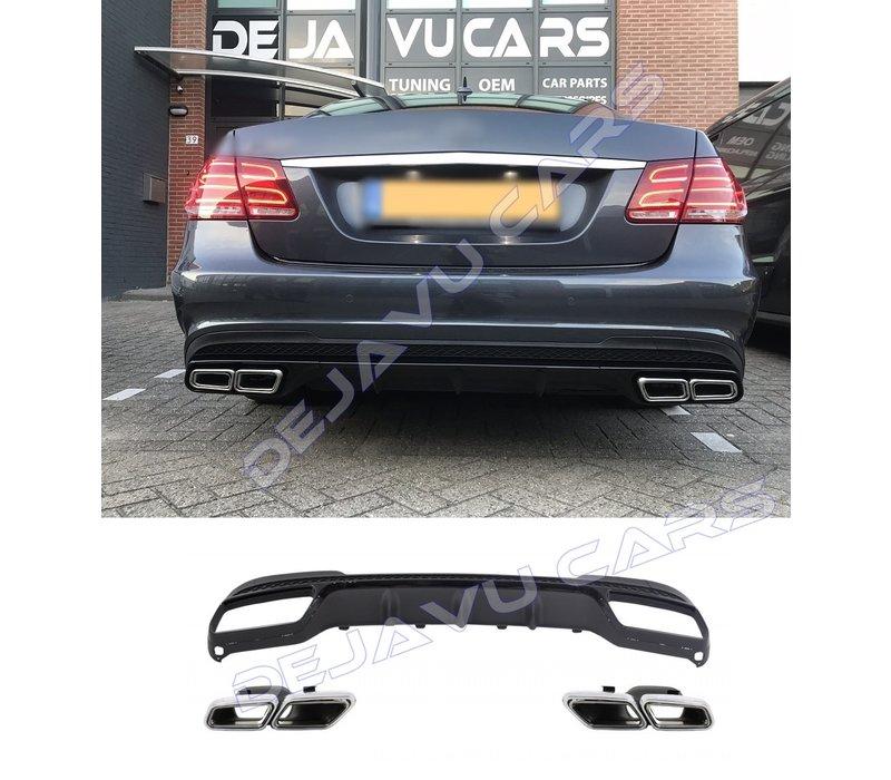 E63 AMG Look Diffuser for Mercedes Benz E-Class W212