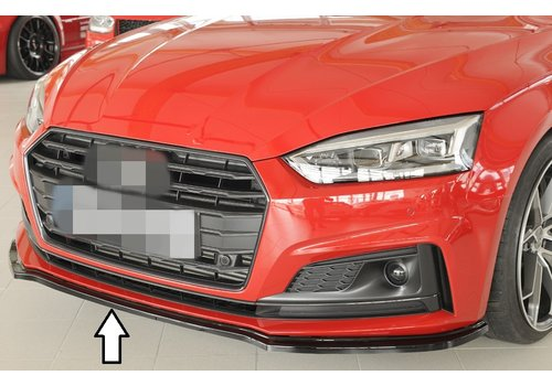 Rieger Front splitter for Audi A5 B9 F5 S line