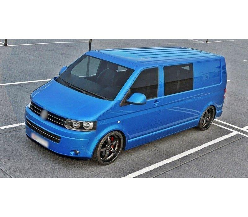 Front splitter voor Volkswagen Transporter T5