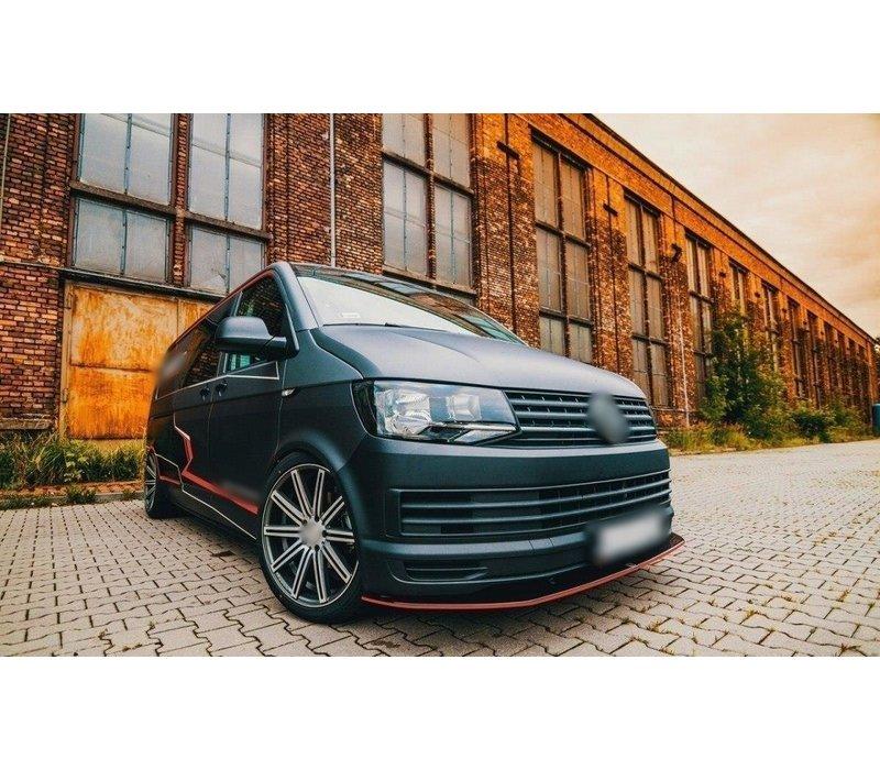 Front splitter for Volkswagen Transporter T6