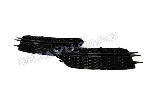 OEM LINE RS6 Look Nebelscheinwerfergitter Black Edition für  Audi A6 C7