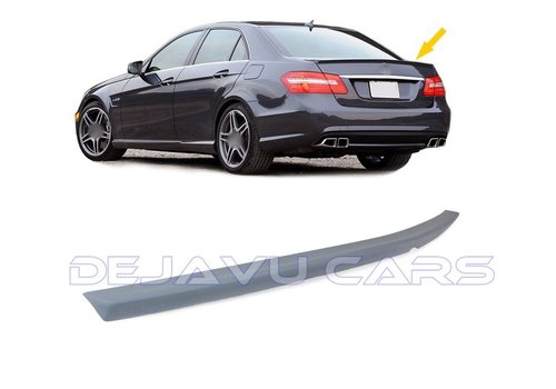 OEM LINE E63 AMG Look Tailgate spoiler lip for Mercedes Benz E-Class W212