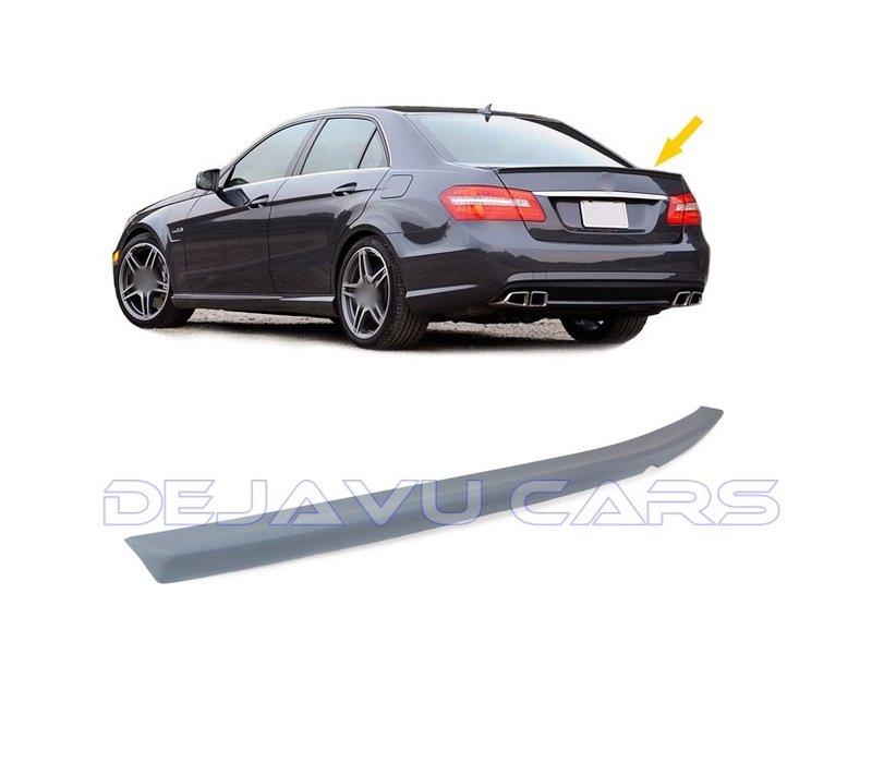 E63 AMG Look Achterklep spoiler lip voor Mercedes Benz E-Klasse W212