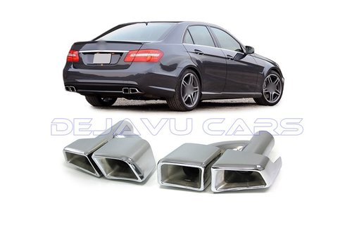 OEM LINE AMG Look Exhaust tips for Mercedes Benz