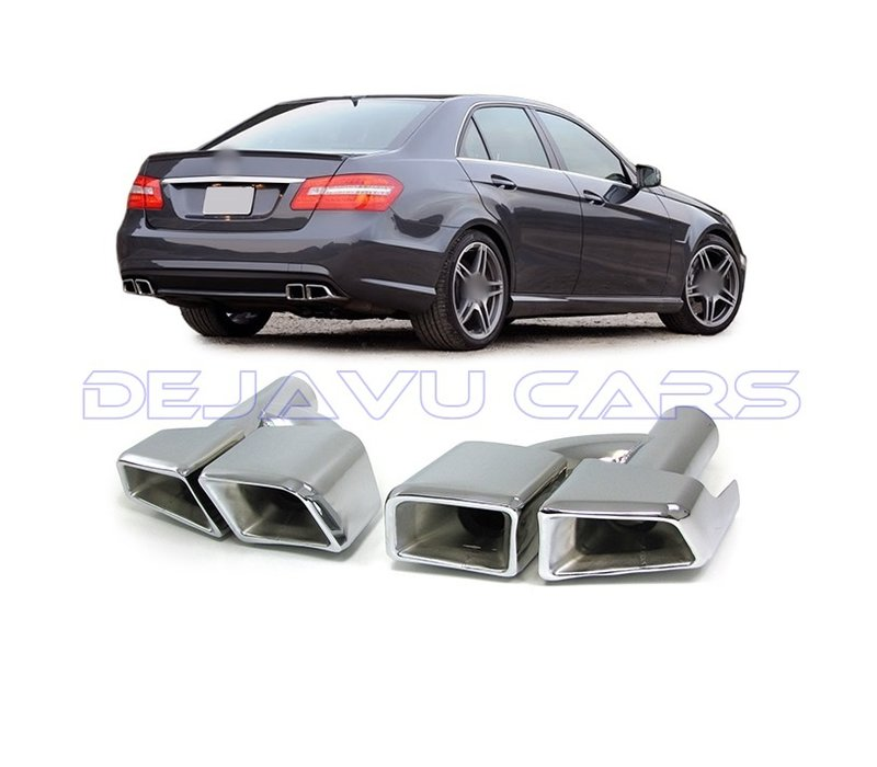 AMG Look Exhaust tips for Mercedes Benz