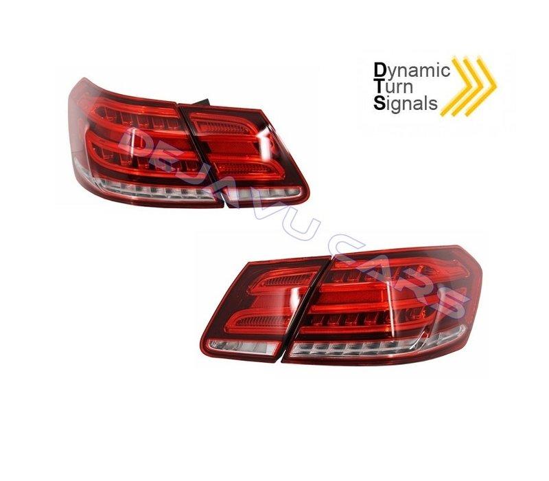 Facelift Look LED Rückleuchten für Mercedes Benz E-Klasse W212