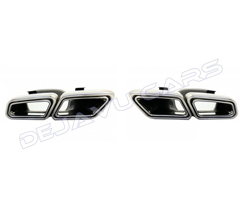 AMG Look Exhaust tips for Mercedes Benz E-Class W212