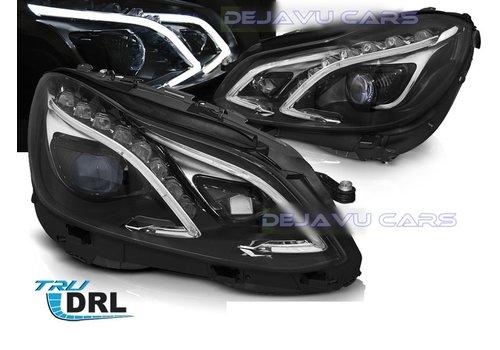 DEPO Bi Xenon Look LED Scheinwerfer für Mercedes Benz E-Klasse W212 Facelift
