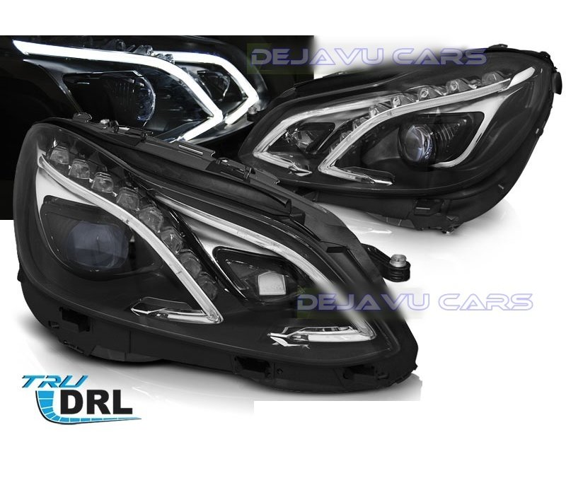Bi Xenon Look LED Headlights for Mercedes Benz E-Class W212 Facelift
