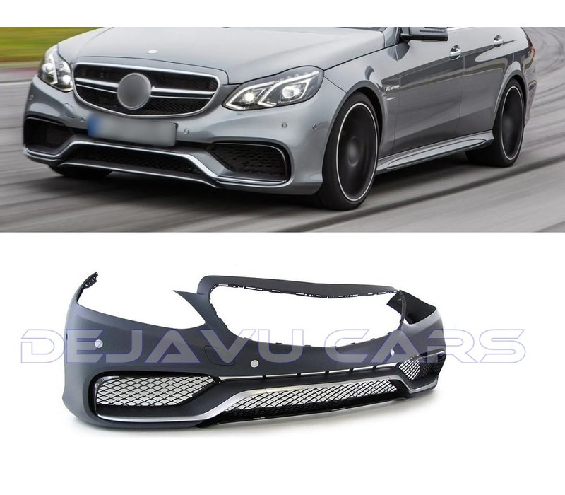 E63 AMG Look Front bumper for Mercedes Benz E-Class W212 Facelift