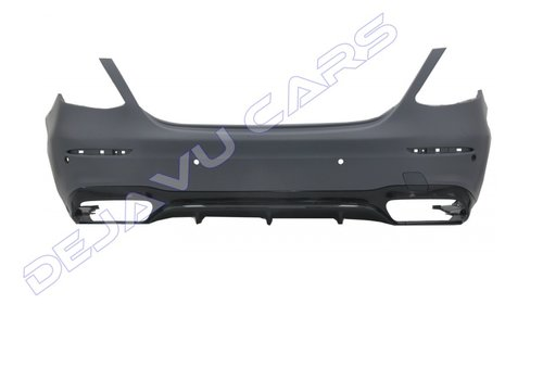 DEJAVU CARS - OEM LINE E63 AMG Look Rear bumper for Mercedes Benz E-Class W213