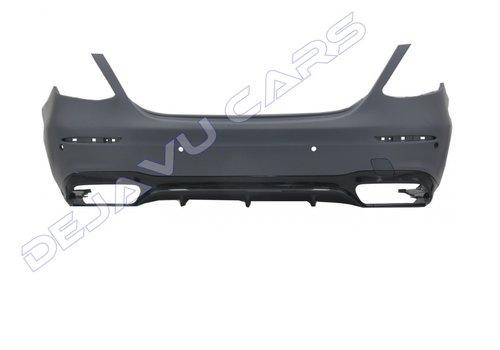 OEM LINE E63 AMG Look Rear bumper for Mercedes Benz E-Class W213