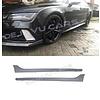 OEM LINE RS7 Look Seitenschweller für Audi A7 4G, S line & S7