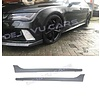 OEM LINE RS7 Look Side skirts voor Audi A7 4G, S line & S7