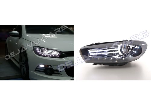 OEM LINE LED Headlights Bi Xenon look for Volkswagen Scirocco 3