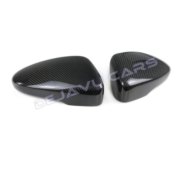 Carbon mirror caps for Volkswagen Scirocco 3