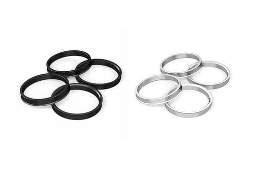 OEM LINE 4x Centric Rings Aluminum