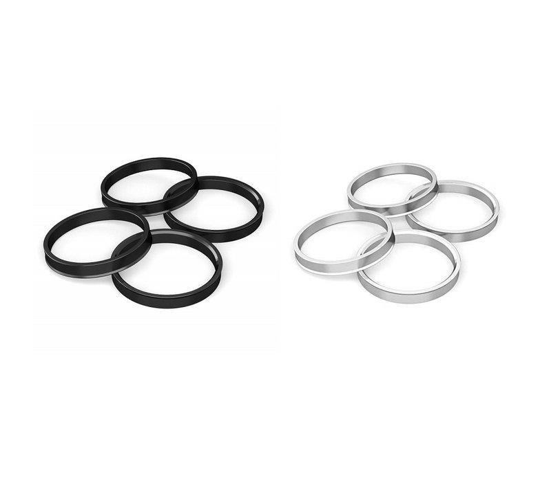 4x Centric Rings Aluminum