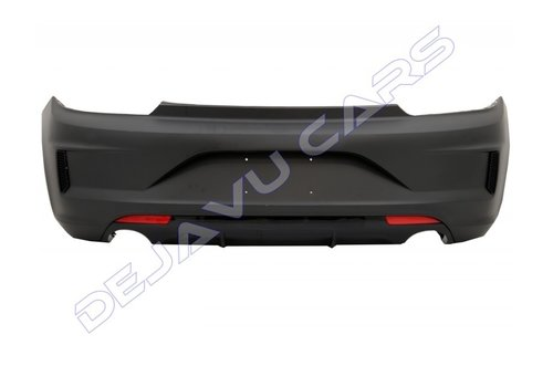 OEM LINE R Look Rear bumper for Volkswagen Scirocco 3 Facelift