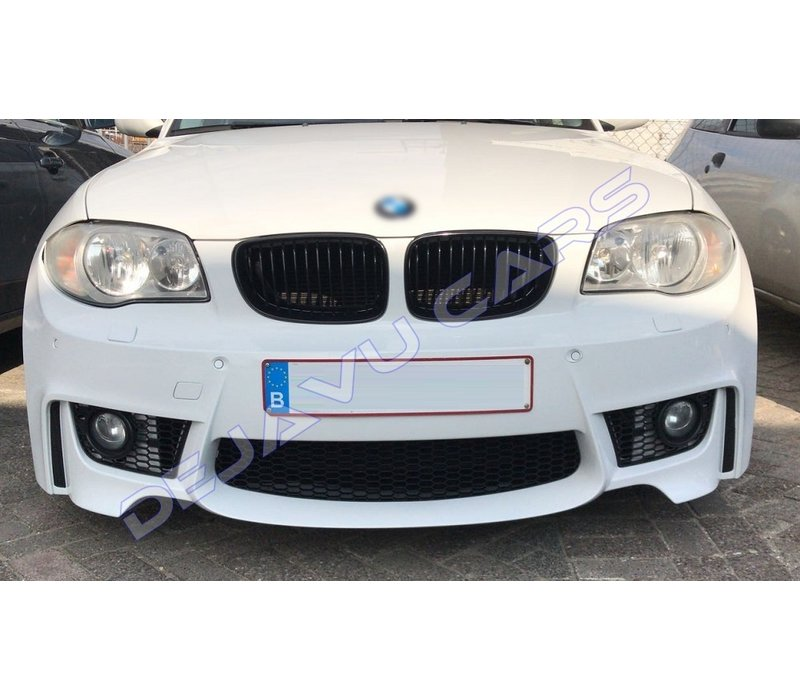 M1 Look Voorbumper voor BMW 1 Serie E81 / E82 / E87 / E88