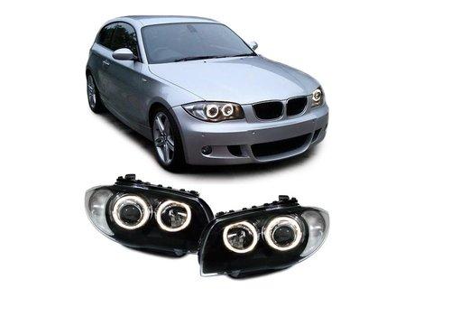 DEPO Xenon look Headlights with Angel Eyes for BMW 1 Series E81 E82 E87 E88