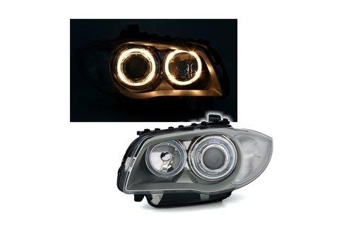 DEPO Xenon look Scheinwerfer mit Angel Eyes für BMW 1 Serie E81 E82 E87 E88
