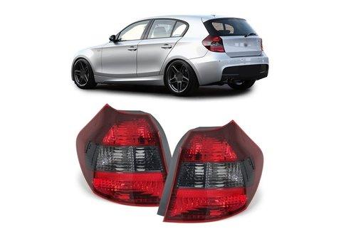 OEM LINE® Rood/Smoke Achterlichten voor BMW 1 Serie E81 / E87
