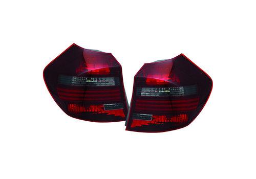 OEM LINE® Rood/Smoke Achterlichten voor BMW 1 Serie E81 LCI / E87 LCI