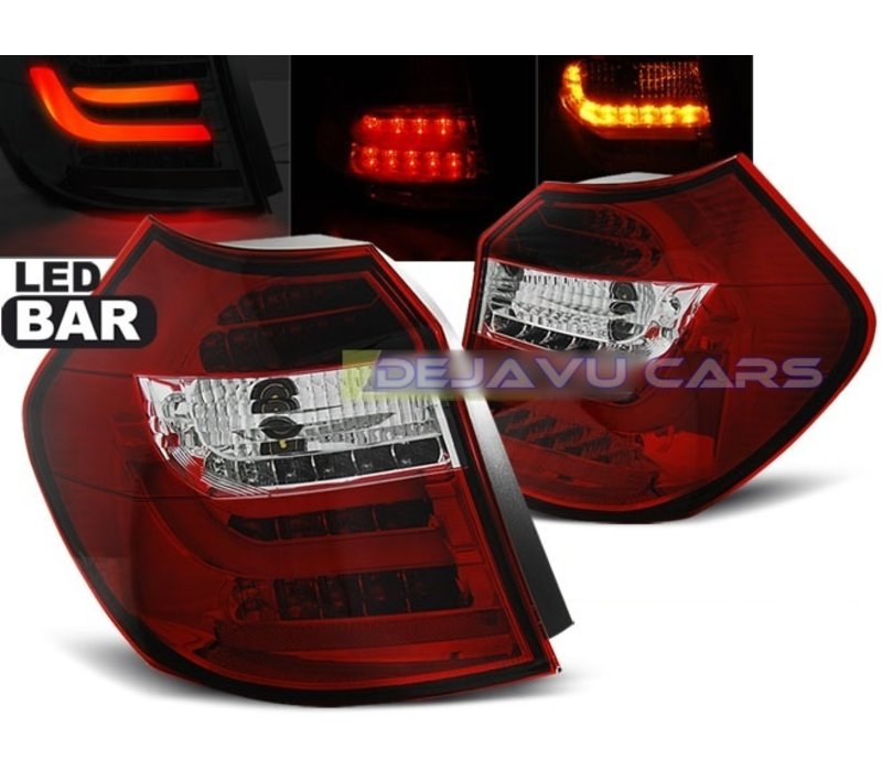 LED BAR Tail Lights for BMW 1 Series E81 / E87