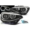 OEM LINE LED Koplampen Bi Xenon look met Angel Eyes voor BMW 1 Serie F20 / F21