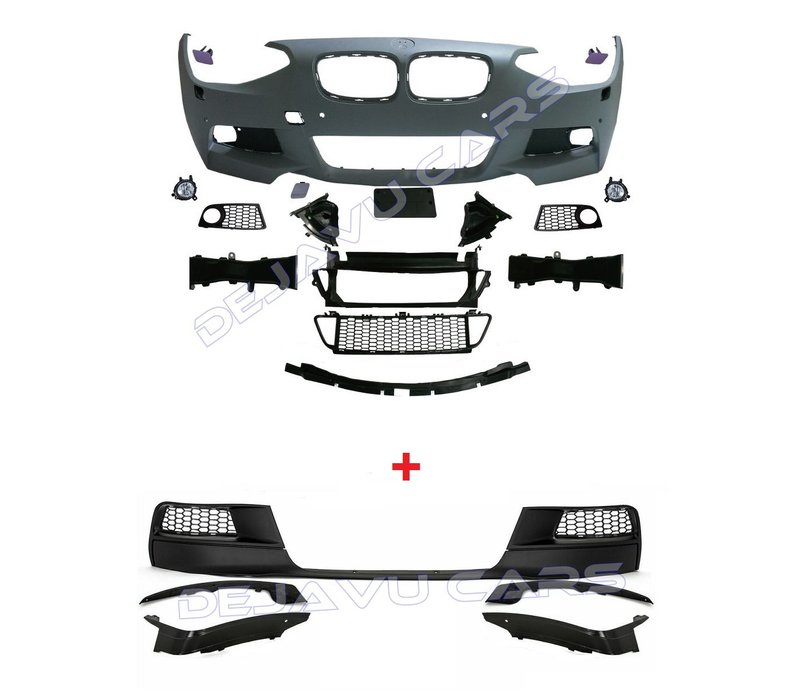 M-Tech / M-Performance Look Front bumper for BMW 1 Series F20 / F21