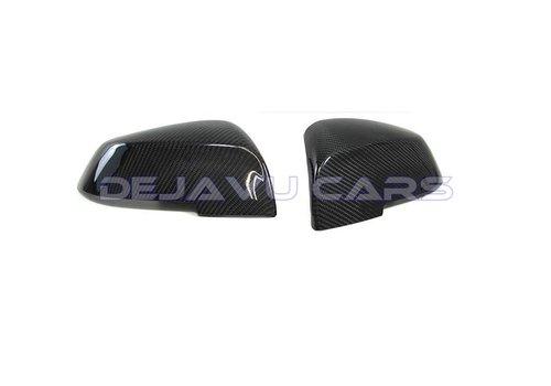 OEM LINE® Carbon mirror caps for BMW F20/F21/F22/F23/F30/F31/F32/F33/F34/F36/X1 E84/ i3