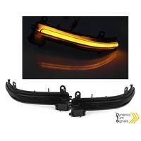 Dynamische LED Buitenspiegel Knipperlichten voor BMW F20/F21/F22/F23/F30/F31/F32/F33/F36/X1 E84
