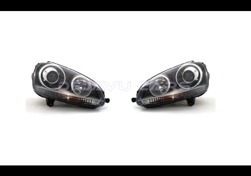 OEM LINE D2S Xenon Headlights for Volkswagen Golf 5 & Jetta 3