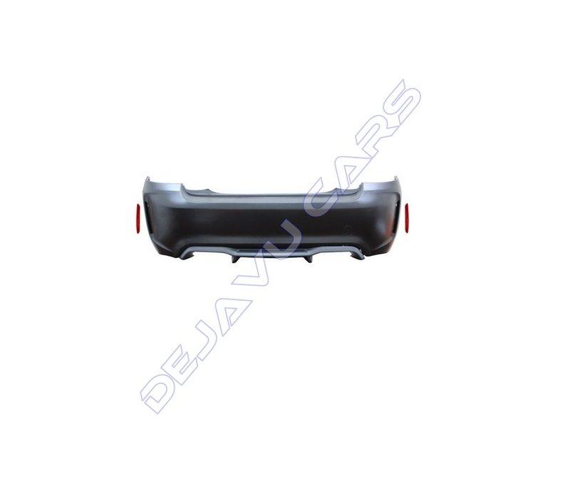 M2 Look Achterbumper voor BMW 2 Serie F22 / F23