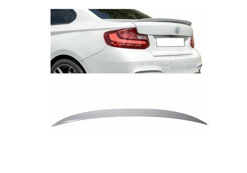 OEM LINE M Look Achterklep spoiler lip voor BMW 2 Serie F22 Coupe