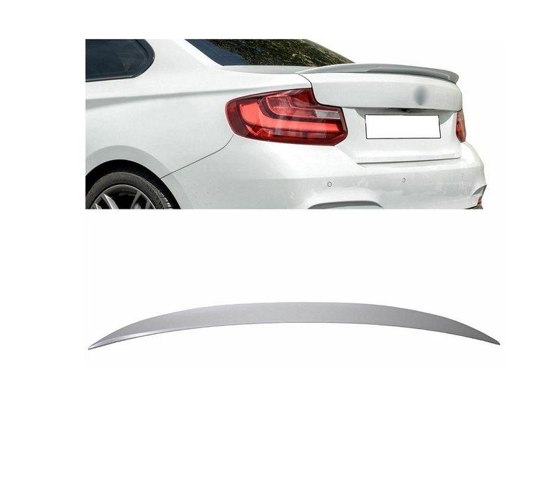 M Look Heckspoiler lippe für BMW 2 Serie F22 Coupe