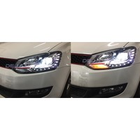 Bi Xenon GTI Look LED Koplampen voor Volkswagen Polo 6R / 6C