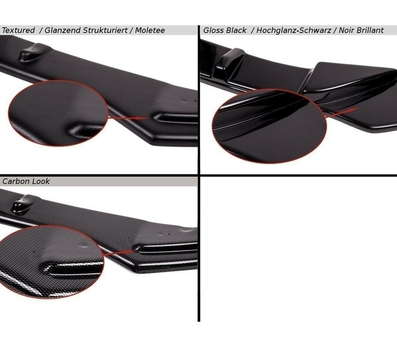 Front splitter for Audi A3 8P