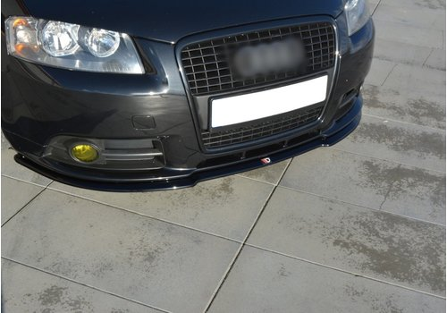 Maxton Design Front splitter for Audi A3 8P S line